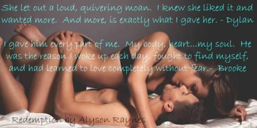 Alyson Raynes - Redemption Teaser